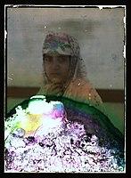 Woman wearing a headscarf LOC matpc.11901.jpg
