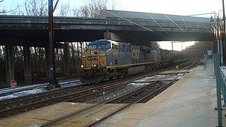 Trenton Subdivision (CSX Transportation) rail line in Pennsylvania and New Jersey