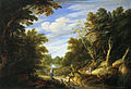 Wooded Landscape with Figures by Alexander Keirincx and Cornelis van Poelenburgh Mauritshuis 79.jpg