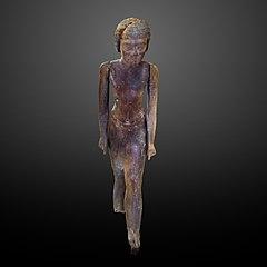 Wooden statue of a man-E 32 886