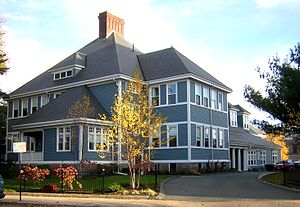 Woodward School for Girls - Image: Woodward Institute Quincy MA 02
