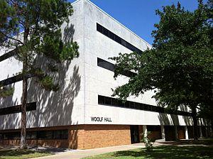 Jack Woolf - Woolf Hall, University of Texas at Arlington.
