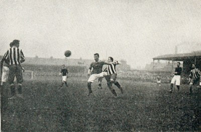 Woolwich Arsenal v. Newcastle United, April 1906