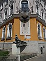 World War I monument by Gyula Aszalay, Miskolc, Hungary.jpg