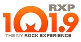 WFAN-FM - WRXP logo.