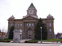 Wyandot County Ohio Courthouse