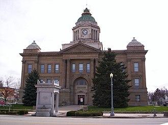 Wyandot County, Ohio - Image: Wyandot County Ohio Courthouse