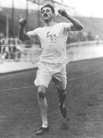 Walkover - Wyndham Halswelle won the 1908 Olympic Gold medal for men's 400 metres in a walkover. American John Carpenter was disqualified, and teammates John Baxter Taylor and William Robbins refused to race in protest.
