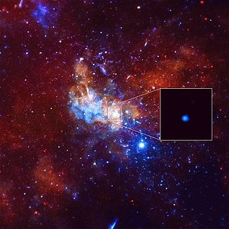 2015 in science - Image: X Ray Flare Black Hole Milky Way 20140105