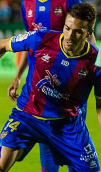 Xavi Torres - Torres playing with Levante in 2012