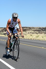 Xavier Le Floch beim Ironman Hawaii (2007)