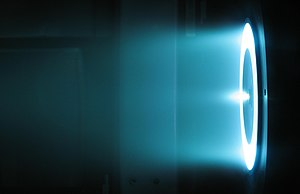 Electrically powered spacecraft propulsion - 6 kW Hall thruster in operation at the NASA Jet Propulsion Laboratory