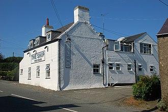 Edern, Gwynedd - Image: Y Llong ar ei Newydd Wedd New look Ship Inn Edern geograph.org.uk 532417