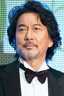 "Yakusho Koji ""The World of Harada Masato"" at Opening Ceremony of the 28th Tokyo International Film Festival (22403788836) (cropped).jpg"