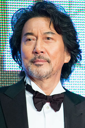 Kōji Yakusho - Kōji Yakusho at the 26th Tokyo International Film Festival in 2015