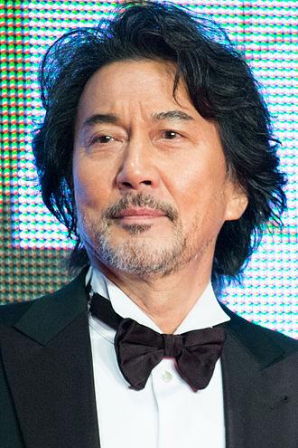 Kōji Yakusho - Kōji Yakusho at the 26th Tokyo International Film Festival in 2015