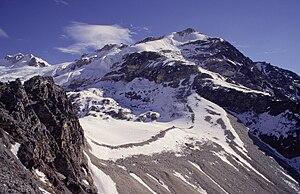 Yala Peak from the southwest