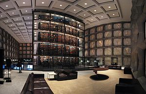 Yale University's Beinecke Rare Book and Manuscript Library.jpg