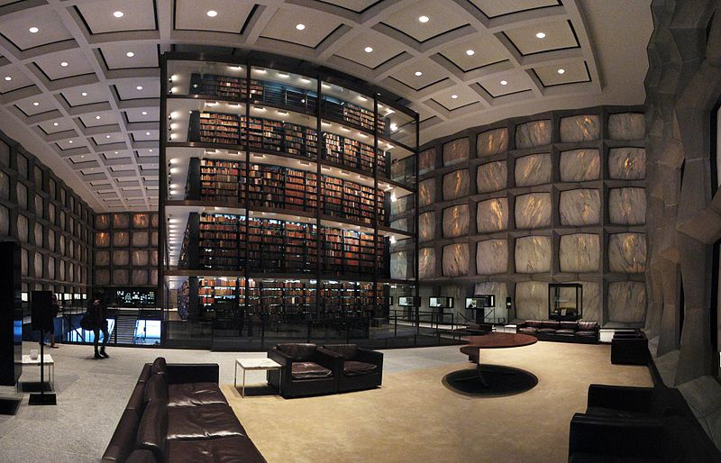 File:Yale University's Beinecke Rare Book and Manuscript Library.jpg