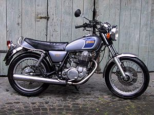 Yamaha Retro Bike