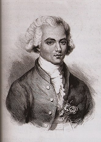 Chevalier de Saint-Georges - Young Saint-Georges in 1768, aged 22. The three roses on his lapel were a Masonic symbol.