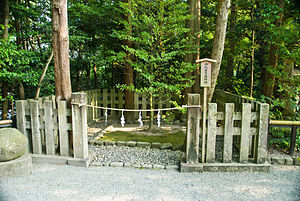Tsurugaoka Hachimangū - The Yui Wakamiya Yōhaijo, where one can pray at Yui Wakamiya without actually going there.