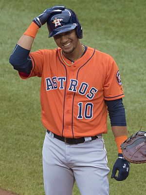 Yuli Gurriel - Gurriel with the Houston Astros in 2016