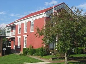 National Register of Historic Places listings in Wayne County, West Virginia - Image: Z. D. Ramsdell House