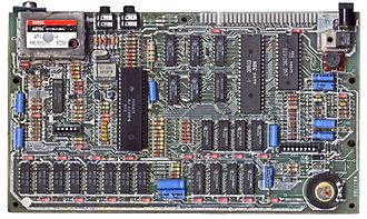 ZX Spectrum - ZX Spectrum 48K motherboard (Issue 3B — 1983, heat sink removed)