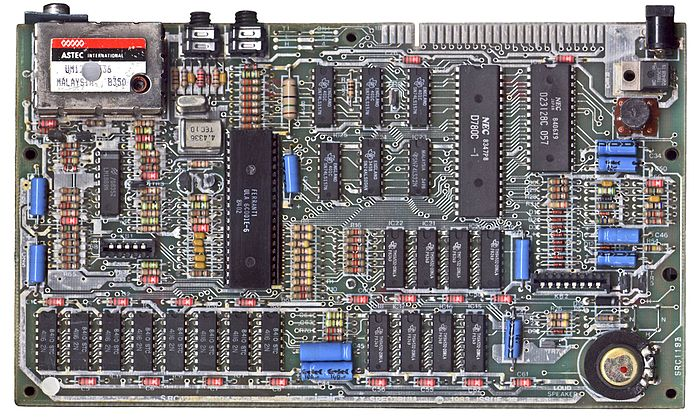 ZX Spectrum 48K motherboard (Issue 3B - 1983, heat sink removed) ZXspectrum mb.jpg