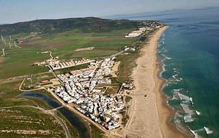 Zahara de los Atunes Village in Andalusia, Spain