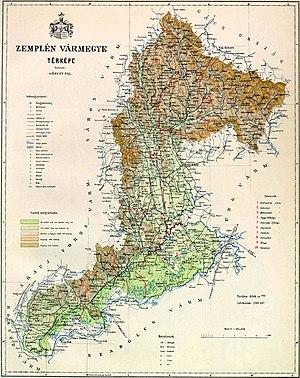 Zemplén County -  Zemplén county