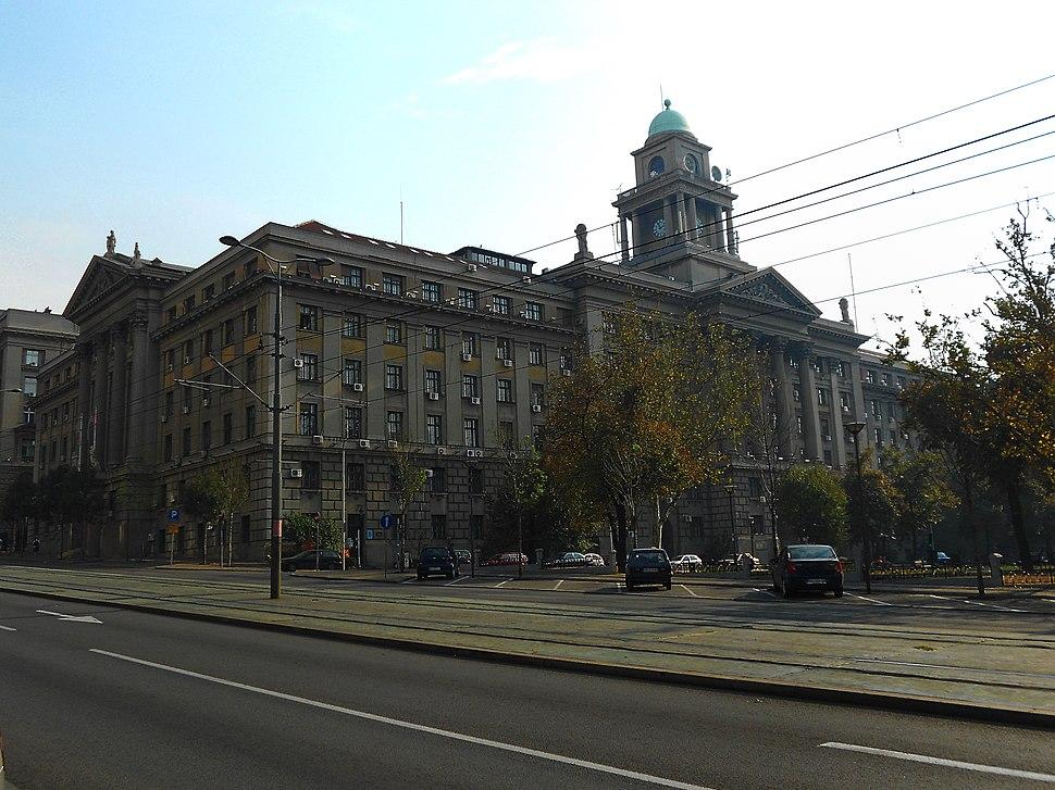 Zgrada Ministarstva saobraćaja u Beogradu