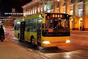 Zhongtong Bus - Image: Zhong Tong LCK6103G 2 AA532 20080124