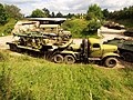 ZiL-157V with Automotive articulated vehicle transporting Volkhov 6009 antiaircraft missiles pic1.jpg