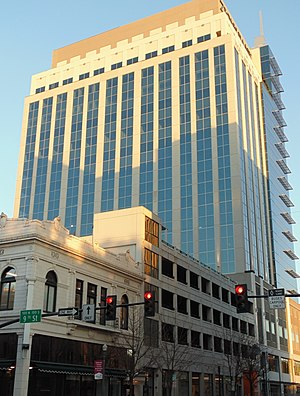 Downtown Boise - Image: Zions Bank Building in Boise