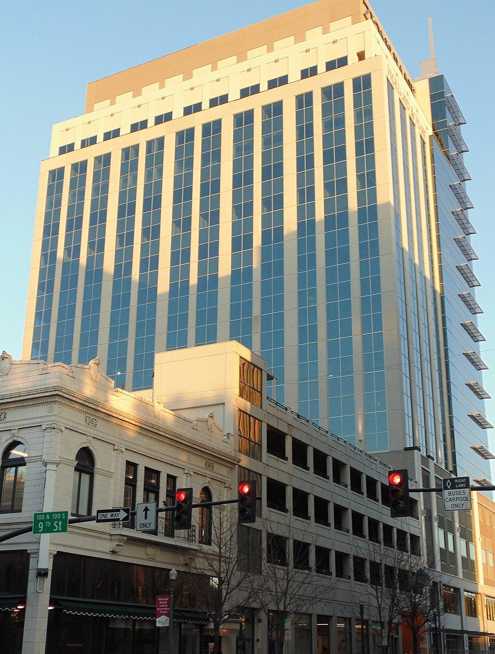 Zions Bank Building in Boise