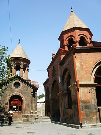 Zoravor Surp Astvatsatsin Church - Image: Zoravar Church