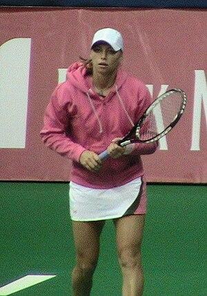 Vera Zvonareva - Zvonareva at 2006 Kremlin Cup.