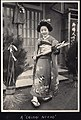 """Chiisai Nikkori"", a smiling kimono girl at New Year in Japan (1914 by Elstner Hilton).jpg"