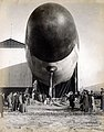 """Francois Airship."" (airship emerging from the Department of Transportation's hangar at the 1904 World's Fair).jpg"
