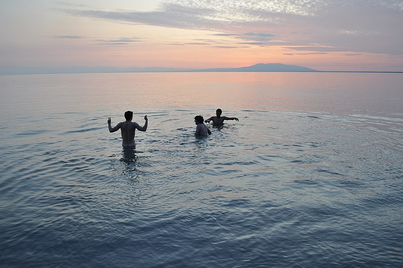 File:Skinny Dipping in a Monet. Anchorage, Alaska
