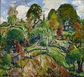'Bit of Silvermine - The Old Farm House' by Charles Reiffel.jpg
