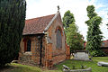 'Church of St Andrew' Greensted, Ongar, Essex England - chancel from southeast.JPG