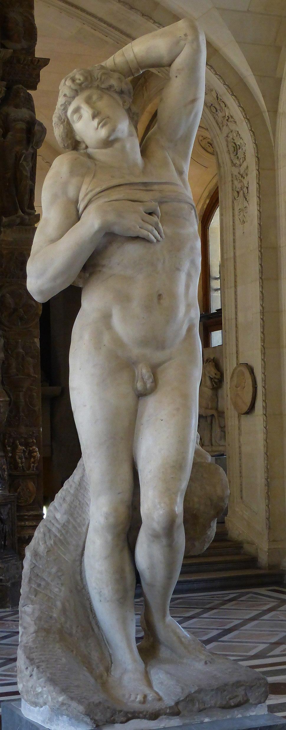 'Dying Slave' Michelangelo JBU001