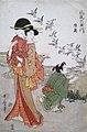 'Noda River in Mitsu' by Kitagawa Utamaro, c. 1804, Honolulu Museum of Art, 13748FXD.jpg