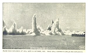 Hell Gate - 1885 explosion