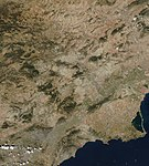 (Region of Murcia) IberianPeninsulaNASA (cropped).jpg