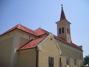 Dulovce - Roman Catholic church in Dulovce