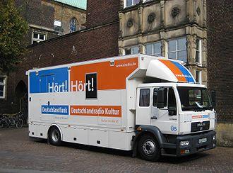 Deutschlandfunk - Deutschlandfunk Satellite truck